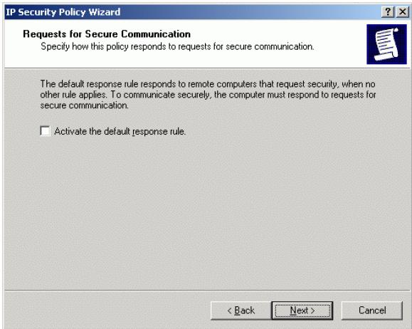 StarWind iSCSI SAN & NAS: IP Security policy configuration