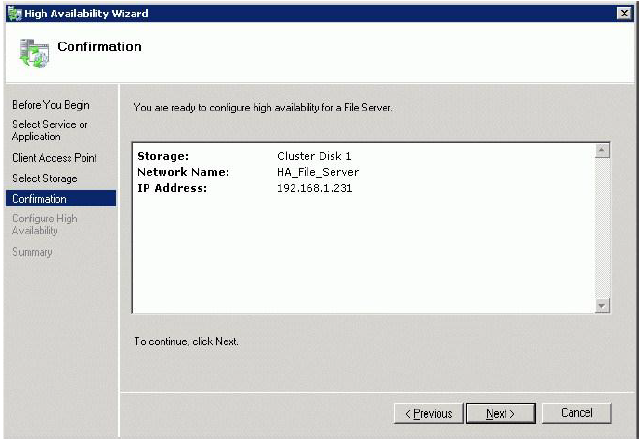 StarWind iSCSI SAN & NAS: Configuring HA File Server for SMB NAS