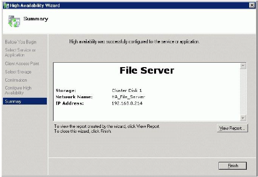 StarWind Native SAN: Configuring HA File Server for SMB NAS