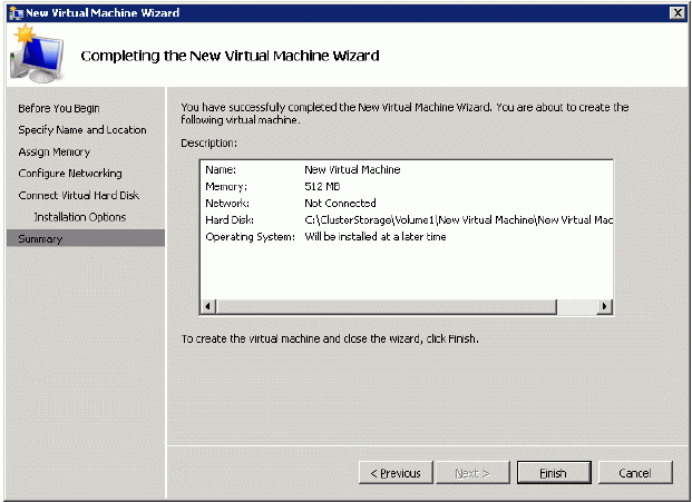 StarWind Native SAN for Hyper V: Providing shared storage for Hyper Vs Live Migration feature on two physical servers