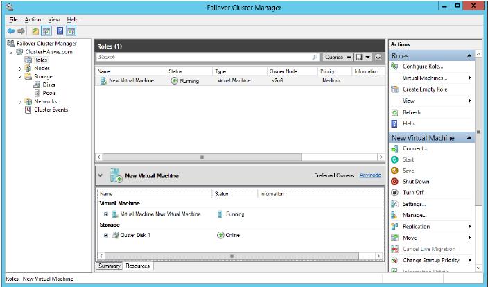 StarWind iSCSI SAN & NAS: Configuring HA Storage for Live Migration on Windows Server 2012