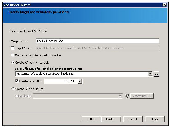 StarWind iSCSI SAN & NAS: Providing HA Shared Storage for vSphere