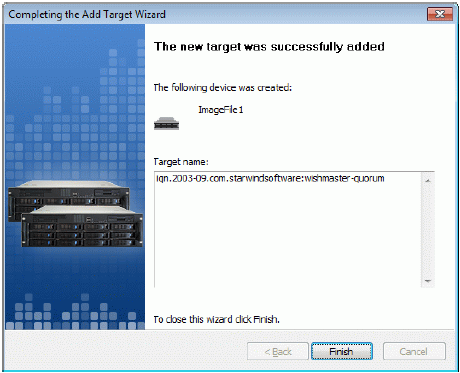 StarWind iSCSI SAN & NAS: Using StarWind with MS Cluster on Win2008 Server