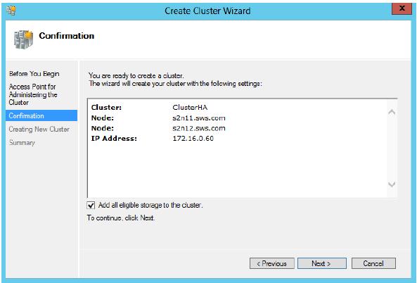 StarWind iSCSI SAN & NAS: Configuring HA File Server on Windows Server 2012 for SMB NAS