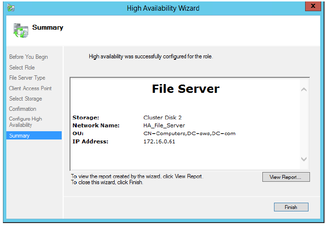 StarWind iSCSI SAN & NAS: Configuring HA File Server on Windows Server 2012 for SMB NAS