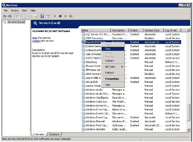 StarWind iSCSI SAN & NAS: HA Maintenance and Configuration Changes