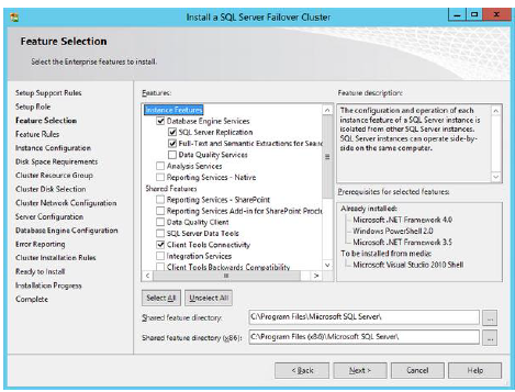Installing & Configuring a SQL Server 2012 Failover Cluster