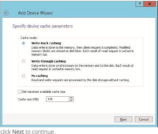 StarWind Virtual SAN Compute and Storage Separated 2 nodes with VMware vSphere