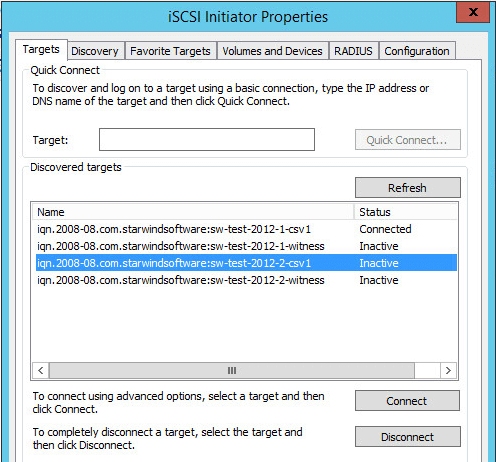 StarWind Virtual SAN Compute and Storage Separated with Windows Server 2012 R2