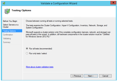 Installing and Configuring a SQL Server Failover Clustered Instance on Microsoft Azure Virtual Machines