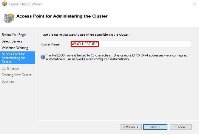SQLNODE1 and SQLNODE2 use DHCP-requested IP addresses, not statically assigned.