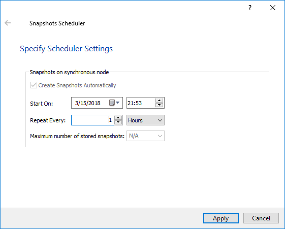 StarWind Virtual SAN Asynchronous Replication. Configuration Scenarios