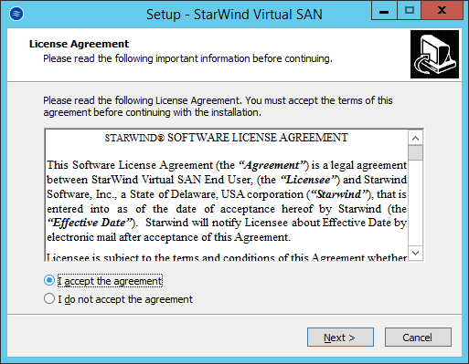 StarWind Virtual SAN Hyperconverged 2 Node Scenario with Hyper V Cluster on Windows Server 2012R2