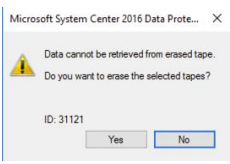 Virtual Tape Library on Azure used with Microsoft System Center Data Protection Manager 2016
