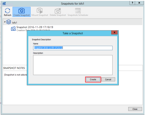 StarWind Virtual SAN Working with StarWind LSFS Snapshots in ESXi
