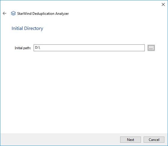 StarWind Deduplication Analyzer