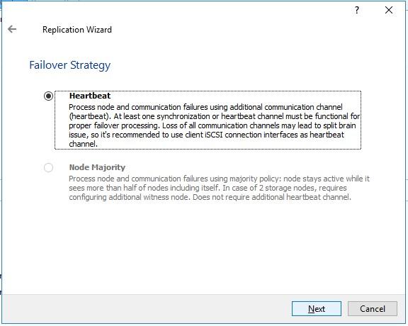 StarWind Virtual SAN Hyperconverged 2 Node Scenario with Hyper V Server 2016