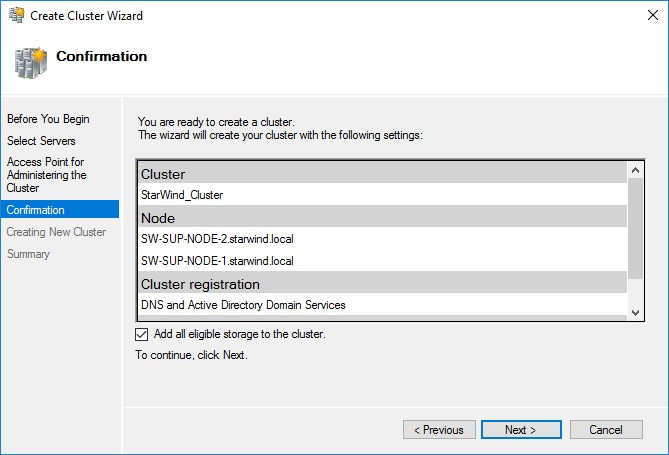 StarWind Virtual SAN Compute and Storage Separated 2 Node Scenario with Windows Server 2016