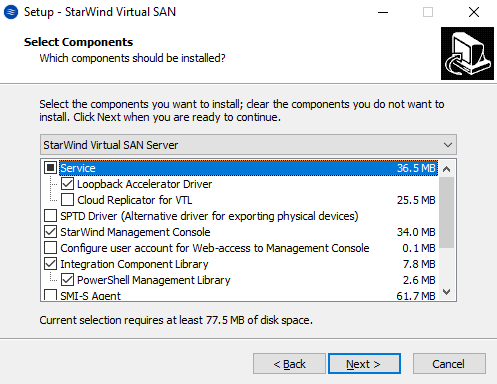 StarWind Virtual SAN HyperConverged 2 Node Scenario with Hyper V Cluster on Windows Server 2016