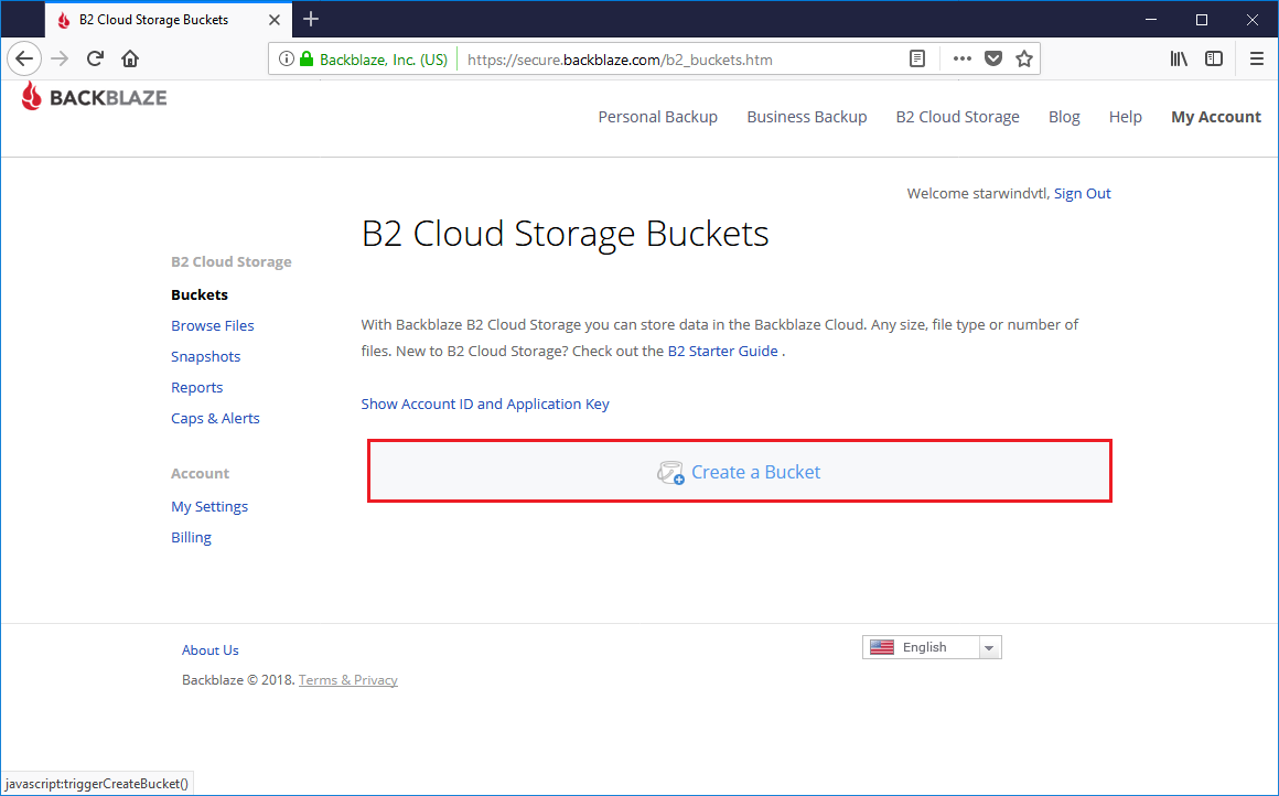 StarWind Storage Gateway for Backblaze and Veeam: Installation and Configuration Guidance