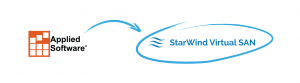 Applied Software Technology reduced the amount of physical equipment needed to ensure the decent performance with StarWind Virtual SAN