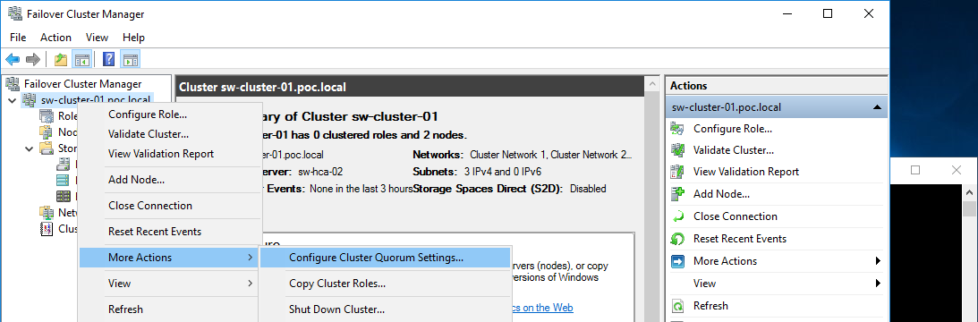 StarWind Virtual SAN<sup>®</sup> 2 Node Stretched Hyper V Cluster on Windows Server 2016