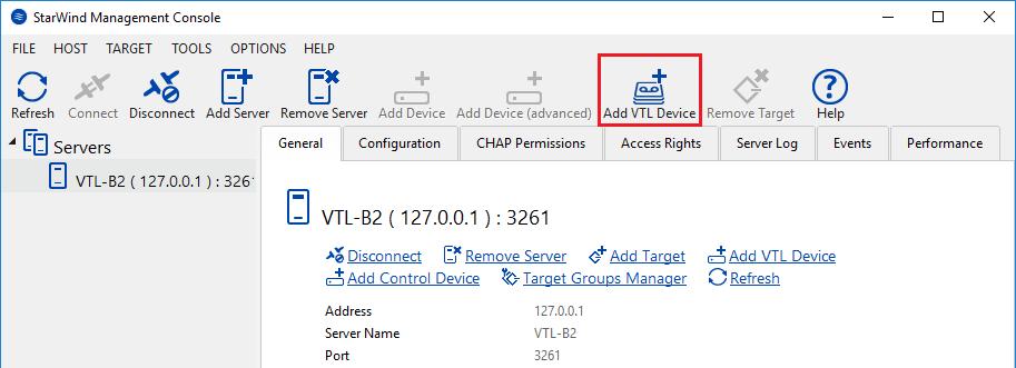 Add VTL Device