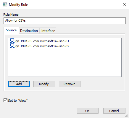 <strong>StarWind Virtual SAN<sup>®</sup></strong>  Configuring Access Control List (ACL) Rules