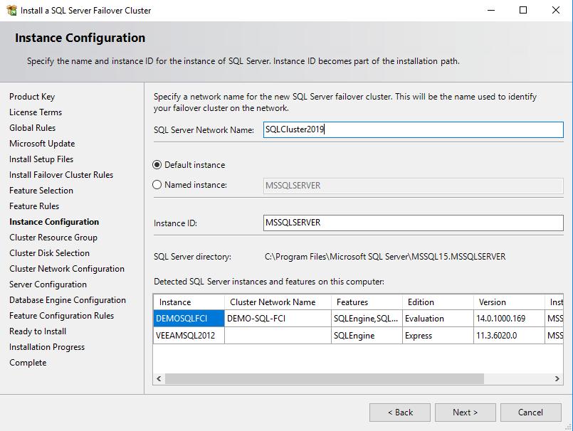 StarWind VSAN Setting SQL Server 2019 FCI on Windows Server