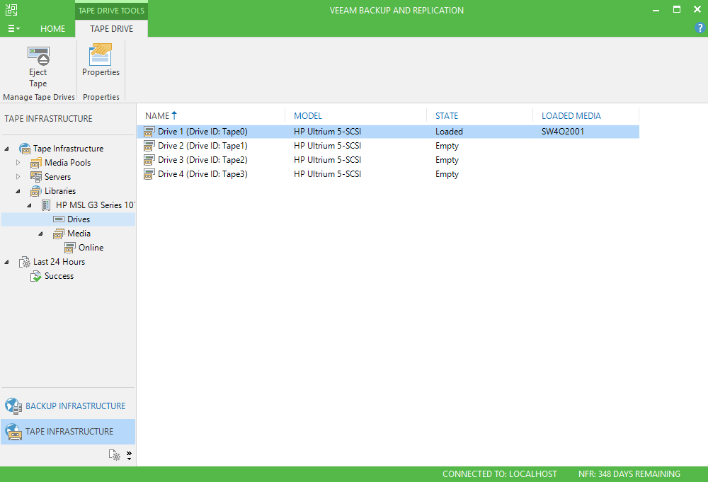 3 - Adding StarWind VTL Device to Veeam B&R Tape Infrastructure
