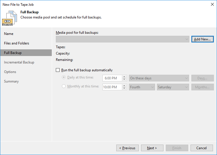 6 - Adding StarWind VTL Device to Veeam B&R Tape Infrastructure