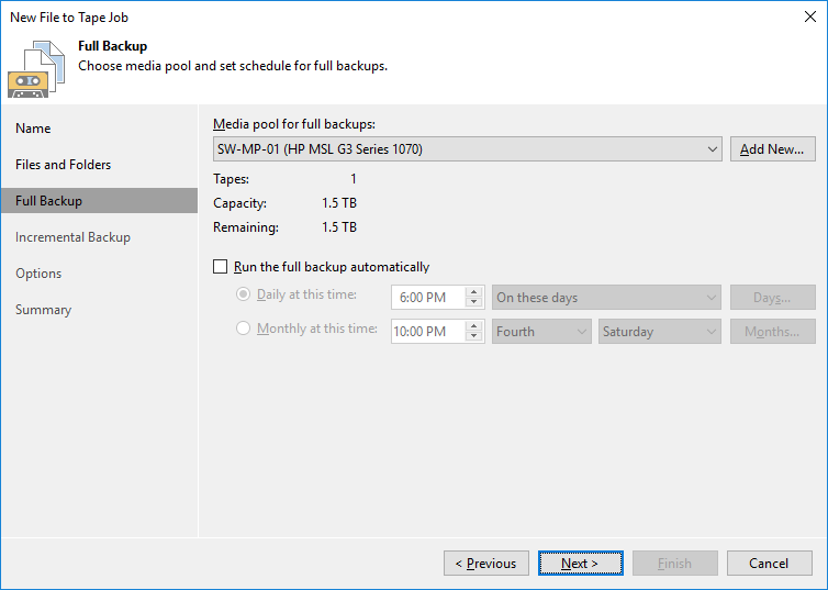 12 - Adding StarWind VTL Device to Veeam B&R Tape Infrastructure
