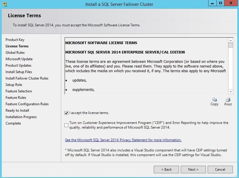 StarWind Virtual SAN<sup>®</sup>  Installing and Configuring SQL Server 2014  Failover Cluster Instance  on Windows Server 2012 R2