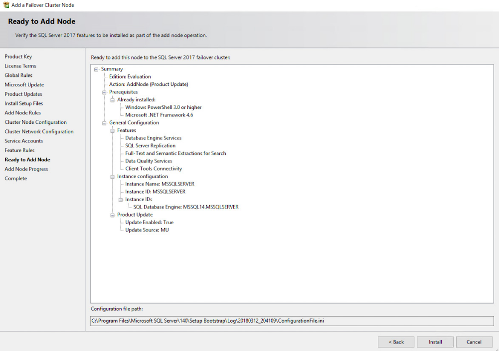 SQL Server 2017 FCI on Windows Server 2016 with StarWind VSAN