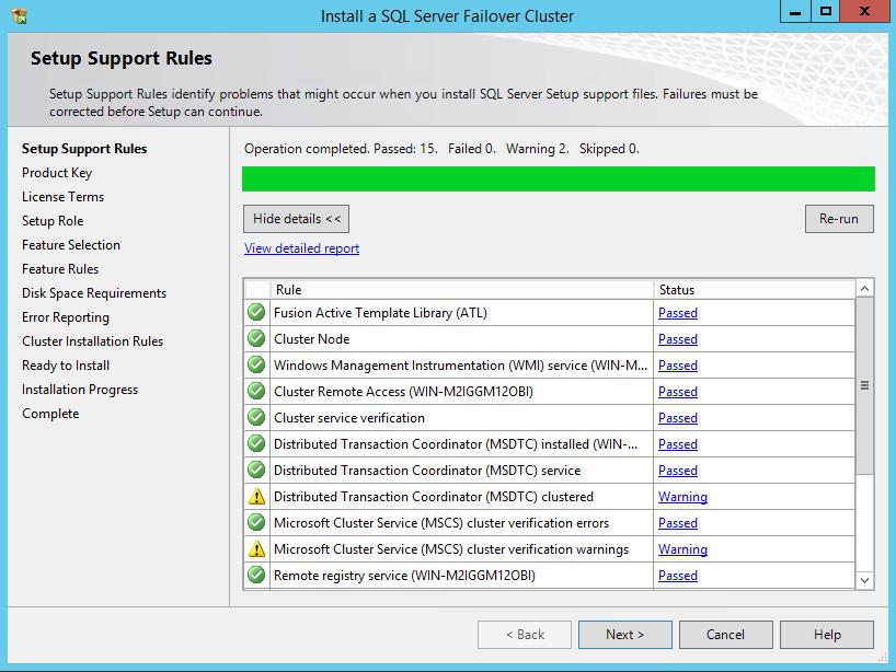 StarWind VSAN Setting SQL Server 2012 FCI on Windows Server 2012