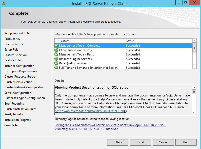 StarWind VSAN Setting SQL Server 2012 FCI on Windows Server