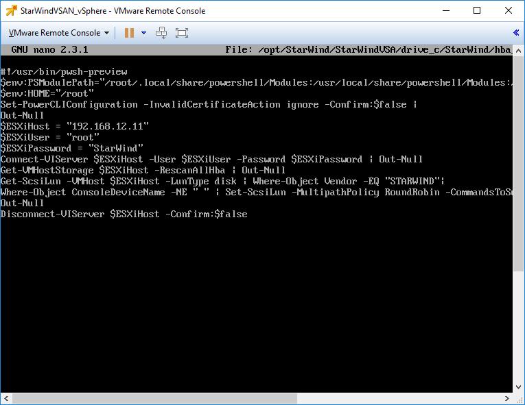 import module command
