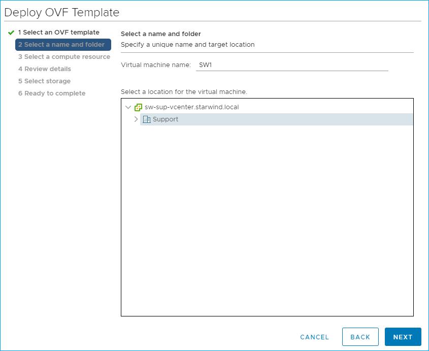 Installing StarWind Virtual SAN for vSphere