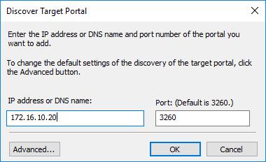 discover target portal partner