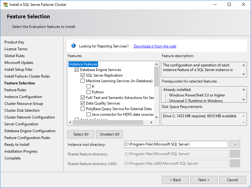 Setting SQL Server 2019 FCI on Windows Server 2016 - Resource Library