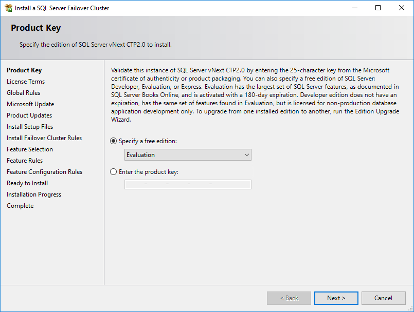 Setting SQL Server 2019 FCI on Windows Server 2016 - Resource Library