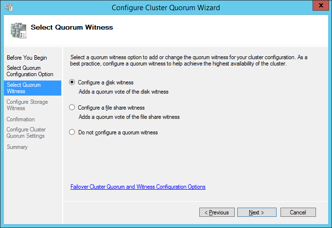 configure witness