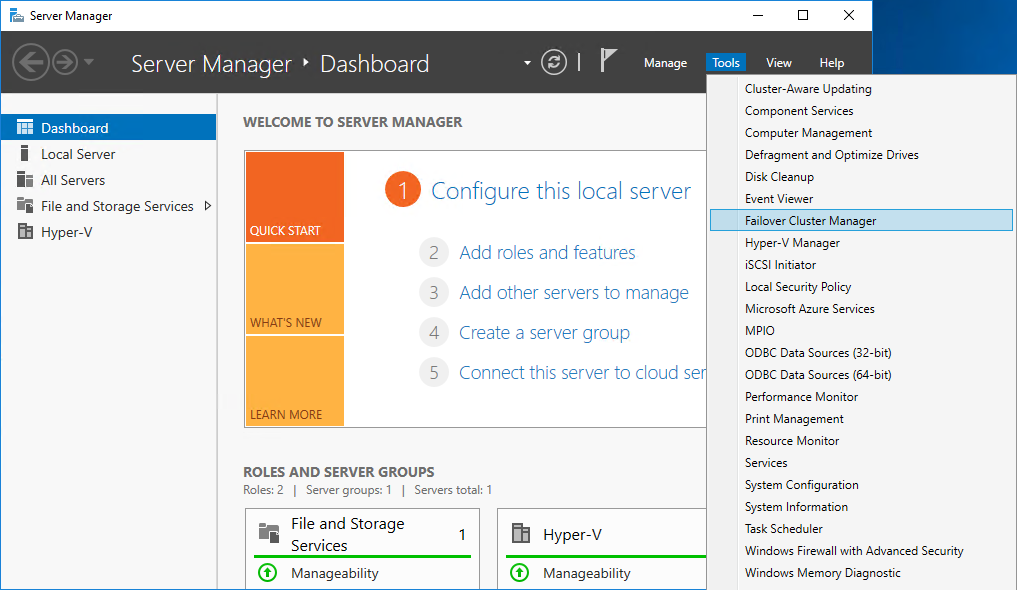 failover manager