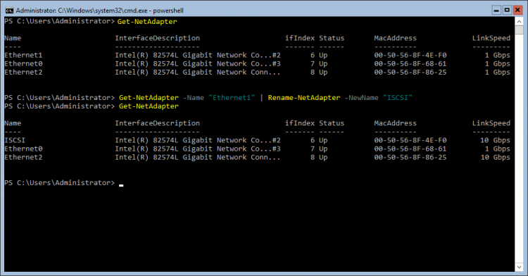 Powershell - Network Adapters Management
