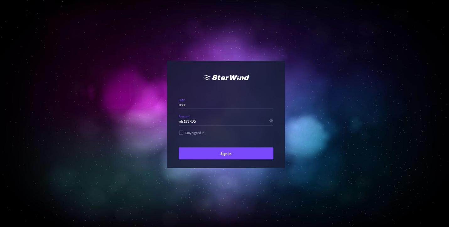 StarWind Command Center
