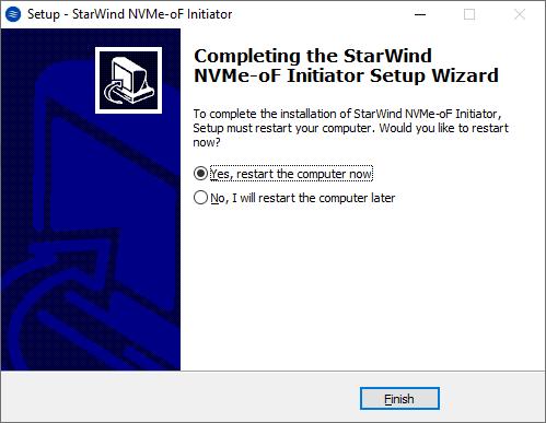 StarWind NVMeoF Initiator