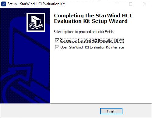 StarWind HCI Evaluation Kit