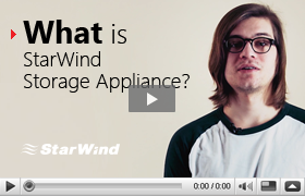 StarWind Storage Appliance product video