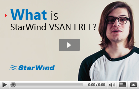 StarWind Virtual SAN Free product video