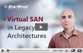 Virtual SAN in Legacy Architectures Video